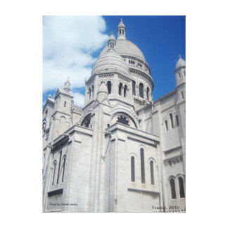 Some Church in France Canvas Print