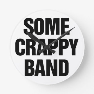 Some Crappy Band Wallclocks