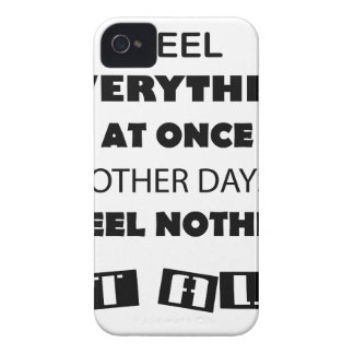 some day i fell everything at once other day, i Case-Mate iPhone 4 case