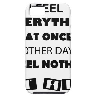 some day i fell everything at once other day, i iPhone 5 cover