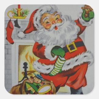 Some Dear Christmas Square Sticker