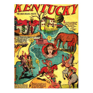 Some Facts About Kentucky Postcard