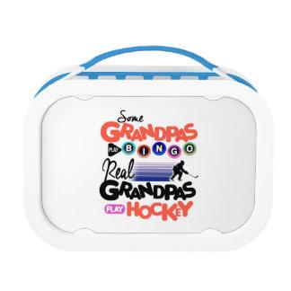 Some Grandpas Play Bingo Real Grandpas Play Hockey Lunch Box