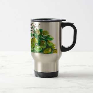 Some grapes travel mug