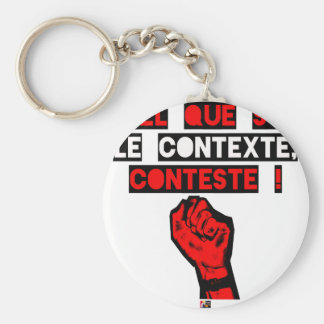 Some is the CONTEXT DISPUTES! - Word games Keychain