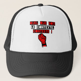 Some is the CONTEXT DISPUTES! - Word games Trucker Hat