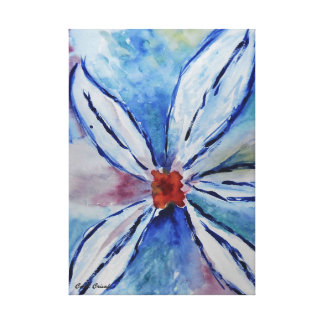 Some Kind of Flower Canvas Print