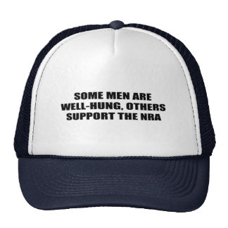 Some men are well-hung, others support the NRA Mesh Hat