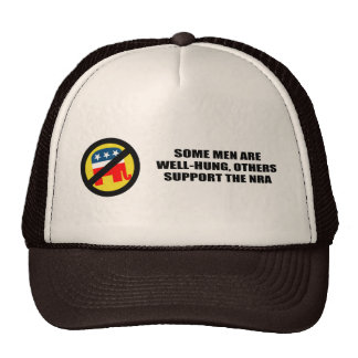 Some men are well-hung, others support the NRA Trucker Hat