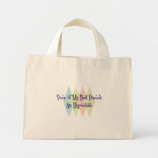 Some of My Best Friends Are Hypnotists Mini Tote Bag