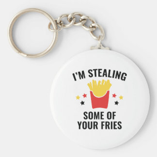Some Of Your Fries Keychain