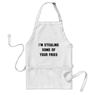 Some Of Your Fries Standard Apron