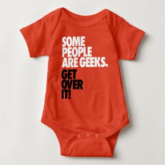 Some People Are Geeks Baby Bodysuit