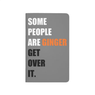 Some People are Ginger Pocket Journal