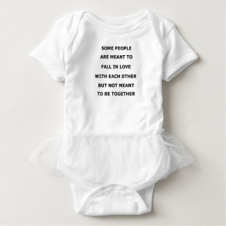 some people  are meant to fall in love with each o baby bodysuit