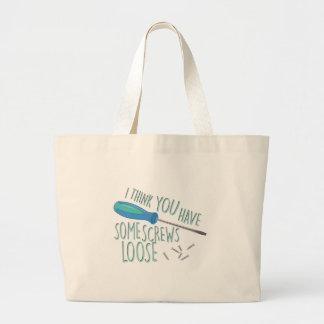 Some Screws Loose Large Tote Bag