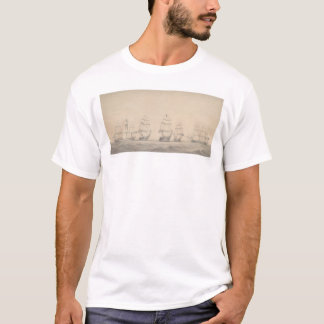 Some Ships of the U.S. Pacific Squadron (1346) T-Shirt