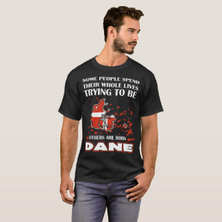 Some Spend Whole Lives Others Born Dane Country T-Shirt