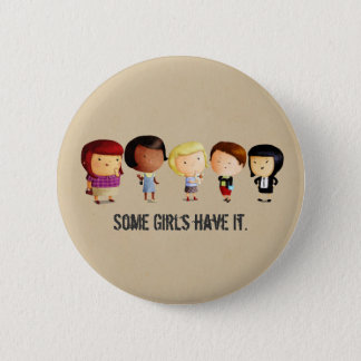 Some Subculture Girls 2 Inch Round Button