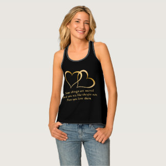 Some Things Are Sacred Racerback Tank
