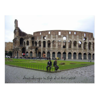 Some Things In... - Rome Postcard