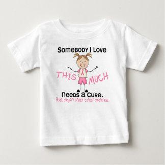 Somebody I Love - Breast Cancer (Girl) Shirt