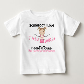 Somebody I Love - Breast Cancer (Girl) Shirt