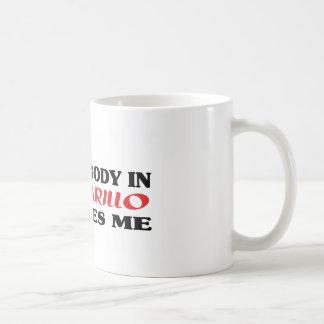 Somebody in Amarillo loves me t shirt Coffee Mug
