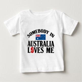 Somebody In Australia Baby T-Shirt