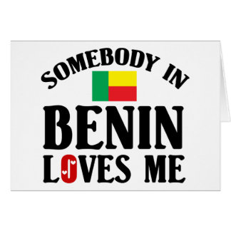 Somebody In Benin Card