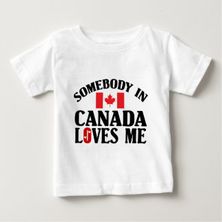 Somebody In Canada T Shirts