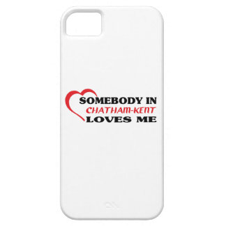 Somebody in Chatham-Kent loves me iPhone 5 Covers