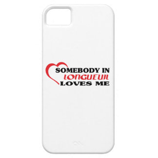 Somebody in Longueuil loves me iPhone 5 Covers