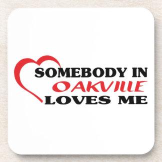 Somebody in Oakville loves me Coaster