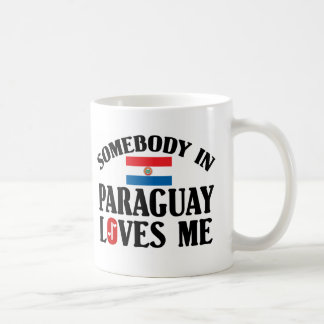 Somebody In Paraguay Loves Me Coffee Mug
