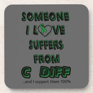 Someone I Love...C Diff Coaster