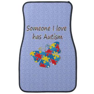 Someone I love has autism (multi) Auto Mat