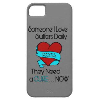 Someone I Love...Heart/Ribbon...P.O.T.S. iPhone 5 Case