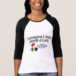 Someone I Love Puzzle Pieces T-shirts