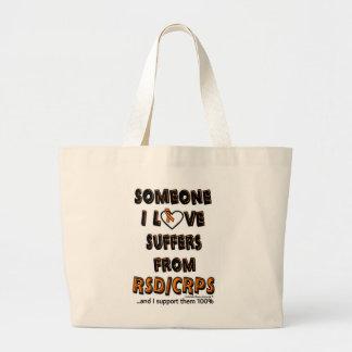Someone I Love...RSD/CRPS Large Tote Bag