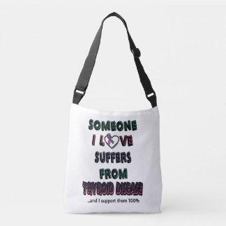 Someone I Love...Thyroid Disease Crossbody Bag