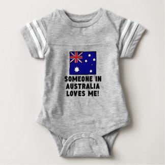 Someone In Australia Loves Me! Baby Bodysuit