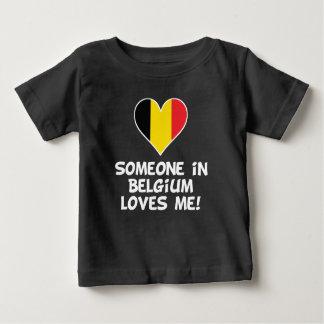 Someone In Belgium Loves Me Baby T-Shirt