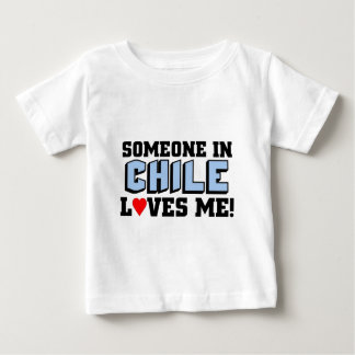 Someone in Chile Loves me Baby T-Shirt