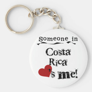 Someone In Costa Rica Loves Me Keychain