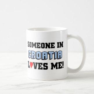 Someone in Croatia Love me Coffee Mug