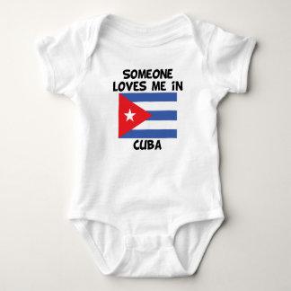Someone In Cuba Loves Me Baby Bodysuit