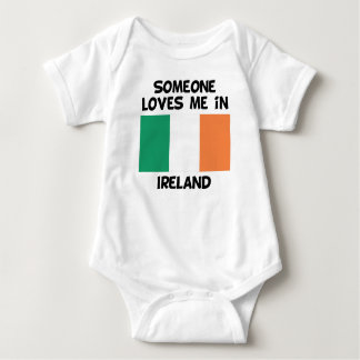 Someone In Ireland Loves Me Baby Bodysuit