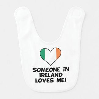 Someone In Ireland Loves Me Bib