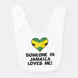 Someone In Jamaica Loves Me Bib